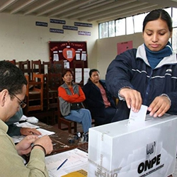 Extraordinary aspects of Peru's recent elections
