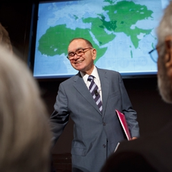 Middle East is Focus of Founding Director's Lecture