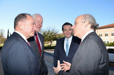 CORNYN, CRUZ AT BAKER INSTITUTE